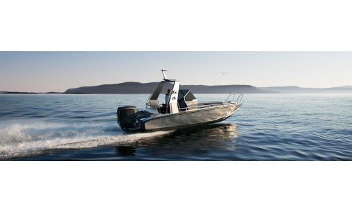 Kraftig båt Anytec 750SP med 200hk