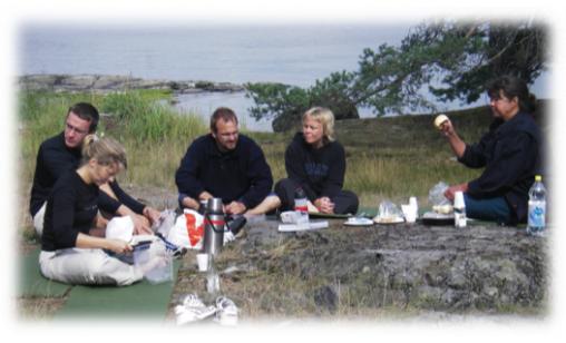 Ledarledd kajakpaddling/lunch 4tim - Vaxholm