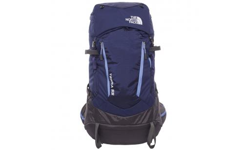 Rymlig backpacking-ryggsäck 56 liter
