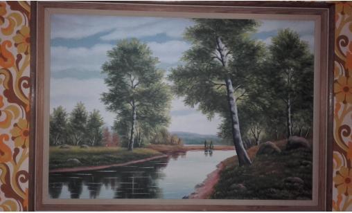 Tavla / Målning