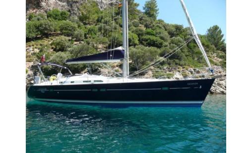 Beneteau Oceanis 423 med skeppare