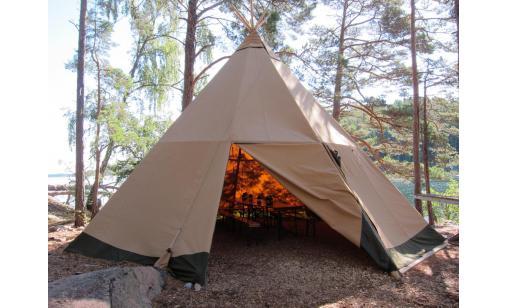 Vildmarkskåta (5 pers) - Vaxholm