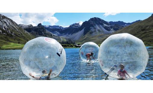 Waterball - kul vattenlek - Ekerö